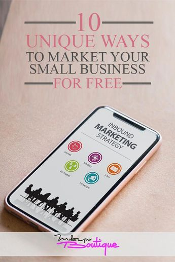 Ideas to market your business for free. Small business marketing can be expensive but it doesn't have to be. Check out these 10 ways you can market your online business or any business for free. #marketing #business #onlinemarketing