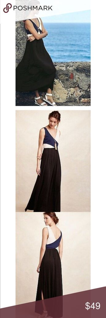 4c8471ff8ae0 Anthropologie Elysian Maxi Dress NWT Small Black BNWT brand new with tags  Women's size small Rayon