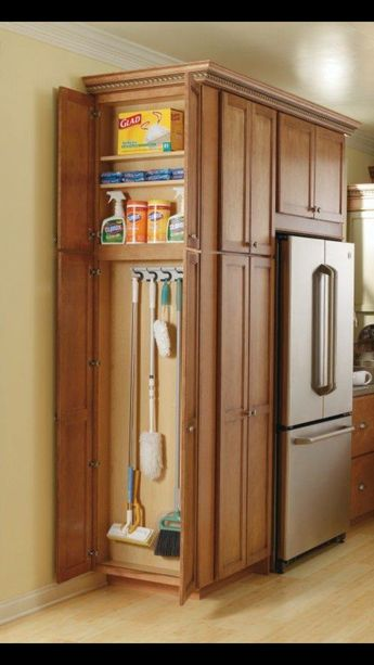 Storage for cleaning supplies
