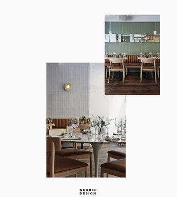 Interior Design Inspiration From a Stylish Helsinki Restaurant