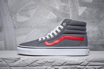 6221dff3c8 vans   Van Sri Lanka cat shop with the classic gray red couple canvas shoes  FS066