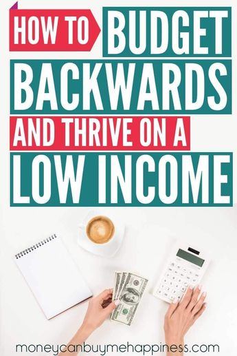 How to do a budget when you're on a low income. If you're wondering how to make a budget when money is tight, one of my best budgeting tips is to work around your core expenses. In this post, I show you how to budget when you don't have a lot of money, my tricks for sticking to a budget, and how we live and save money on a minimum wage budget. Living on a budget doesn't have to be awful. #budget #budgeting #lowincome #reducedebt #debt