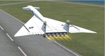 North American XB-70 Valkyrie   FSX North American XB-70 Valkyrie Updated