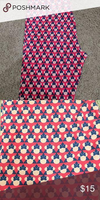 a28573e5a7a273 Lularoe Disney TC Minnie Leggings New LuLaRoe Pants Leggings