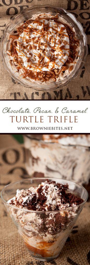 Chocolate Turtle Trifle