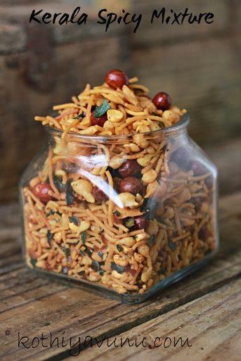 Kerala Spicy Mixture Recipe - South Indian Mixture Recipe