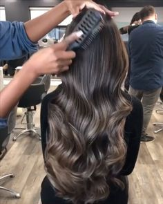 """Bellami Hair Professional on Instagram: """"Pardon us while we watch this on a loop 😍🌀 color by @yogacolourist 🎨 haircut/style by @christopherluis_vivid ✂️"""""""