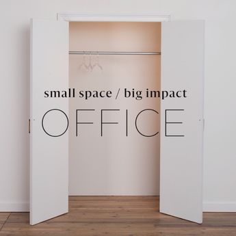 Trapped in a studio that's strapped for space? Here's a weekend-friendly project that turns an extra closet into a stylish home office. Using Ryegrass SW 6423, an earthy Sherwin-Williams hue, this DIY makeover impresses even the most savvy renovators. Click through to get the specific steps to try this yourself!