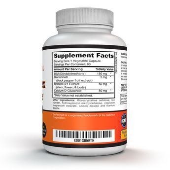 DIM Supplement Complex with BioPerine – Menopause Supplement for Women  60 Capsules * Find out more about the great product at the image link. (This is an affiliate link)