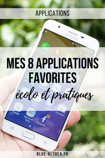 Mes 8 applications favorites