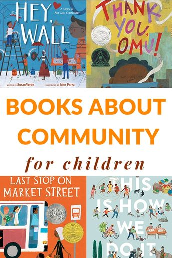 Build and inspire community with these picture books