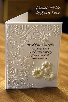 Sympathy cards Ideas