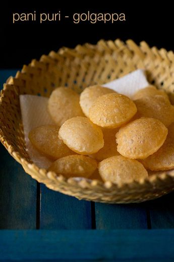 puri recipe for pani puri or golgappa with step by step photos. these pani puris can be made in large numbers and stored in an airtight container. crispy fried puri or golgappa used for making pani poori, dahi poori and ragda poori. #purirecipe #golgappa