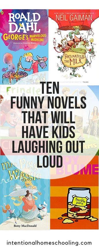 Ten Funny Chapter Books That Will Have Kids Laughing Out Loud