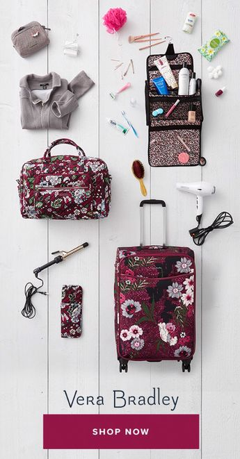 Wherever your travels take you, get there in style. Explore our newest travel bags and accessories so you can pack like a pro for your next trip!