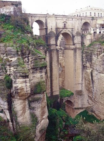 Ronda, Spain - Already seen it, but I would totally go back and hang out in the Spanish mountains!