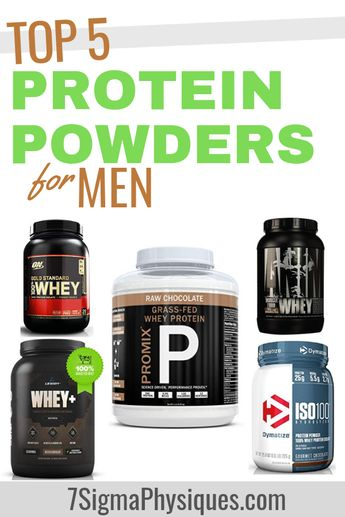 Top 5 Protein Powders for Men