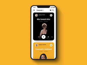 Design Mobile - 20 nouvelles interfaces mobiles en mouvement