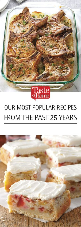 Our BEST Recipes from the Past 25 Years