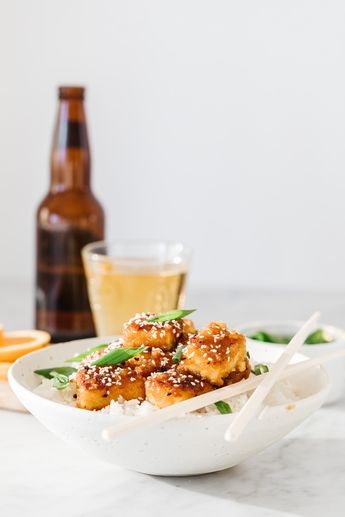 Crispy Orange Tofu (Jillian Harris)