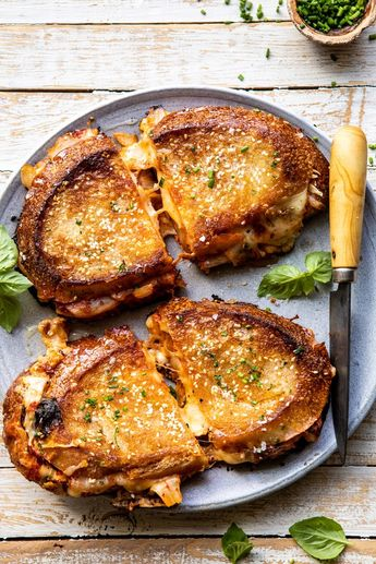 Sesame Butter Kimchi Grilled Cheese