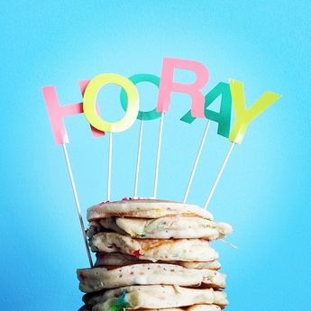 Even pancakes are worthy of a celebration! (via @ ereyayouknowme's Instagram)
