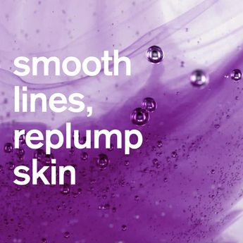 Lines and wrinkles? There's a cartridge for that! Whey Protein, the key ingredient in the purple cartridge, smooths lines and re-plumps skin. Add to your hydration base to create your #CliniqueiD. Shop now at Clinique.com! No parabens. No phthalates. No fragrance. Just #HappySkin.