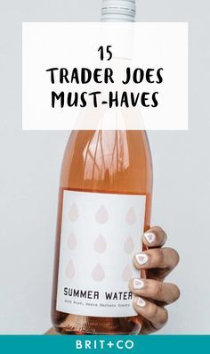 Save these summer snacks from Trader Joe's to complete your park picnic + beach days.