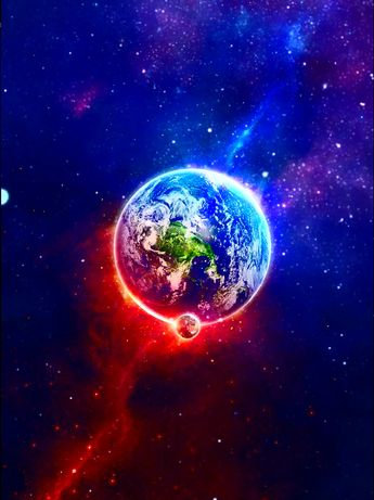 #Animation #Animations #Galaxy #Planet