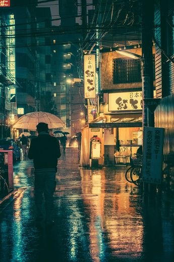 moody cinematic photos by masashi wakui explore tokyo's luminous landscape by night