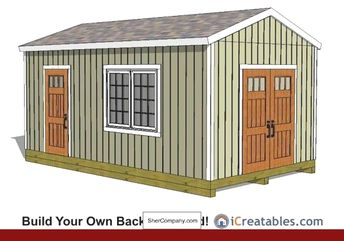 Garden Shed Plans Backyard Shed Designs Building A She