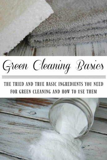 Green Cleaning Basics