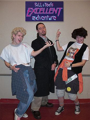 Bill And Ted Halloween Costume Excellent Adventure Phone Booth Bogus Journey Ted Logan Bill S