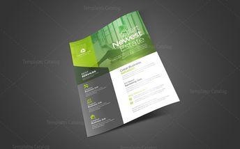 Elegant Business Flyer Design - Graphic Templates