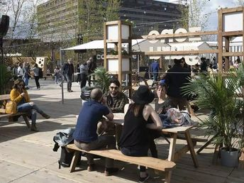Two new outdoor co-working spaces open this week   Montreal Gazette