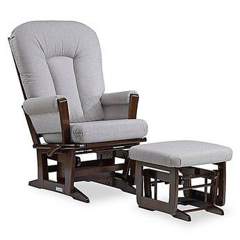 Enjoyable White Grey Nursery Lennox Furniture Emily Glider Chair And Short Links Chair Design For Home Short Linksinfo