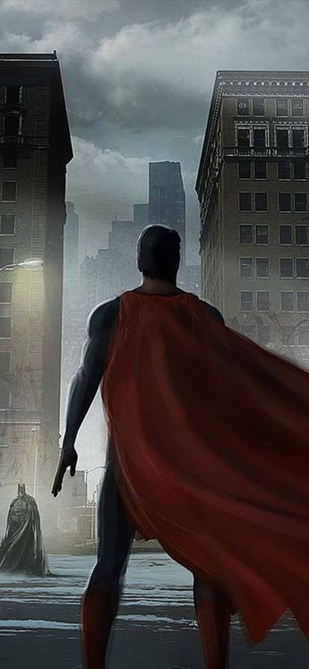 Superman Cape Flying In 1125x2436 Resolution