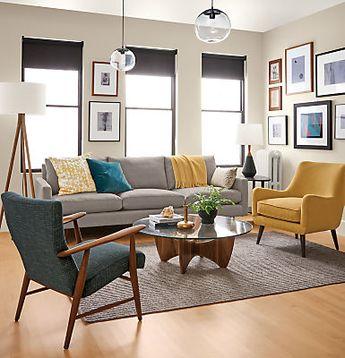 Jonas Lounge Chair & Ottoman