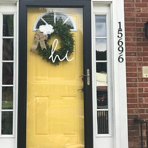 Sunflower Wreath / Flower Wreath Front Door