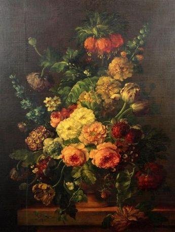 Artist Jean Baptiste Monnoyer (school) - FindArtinfo