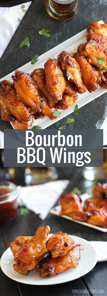Bourbon Barbecue Wings