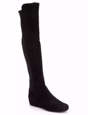 5dca9e9b1ae  55% OFF~~NEW Stuart Weitzman Suede Stretch Lander Over The Knee Boot
