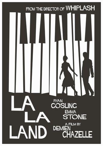 La La Land #LaLaLand #Cinema #Movies #DesignCinema #DesignInCinema #MoviePosters #Posters #Design