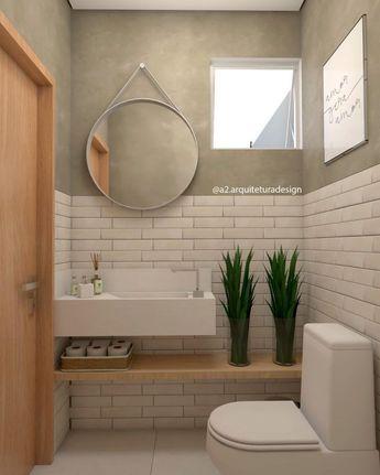 58+ ideias para lavabo pequeno - Dicas Decor