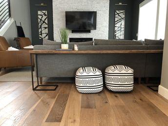Easy DIY Sofa Table