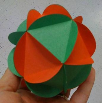 5th grade Christmas Ornament. You can also use cards or pictures to add more detail to the ornament.