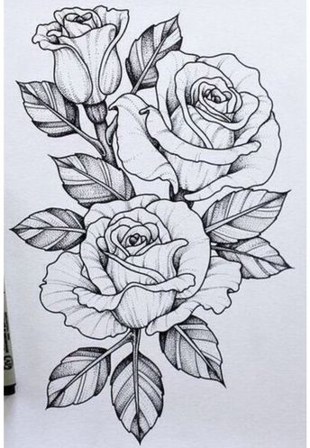 25 Beautiful Flower Drawing Ideas & Inspiration