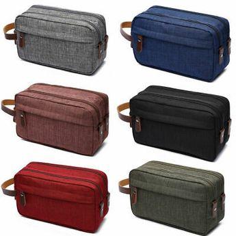 Travel Toiletry Organizer Bag Canvas Shaving Dopp Kit Makeup Bag for Men Women #fashion #clothing #shoes #accessories #mensaccessories #bags (ebay link)