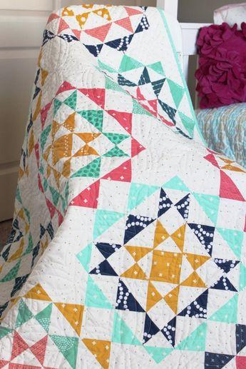 Rhinestones Quilt Pattern-PDF