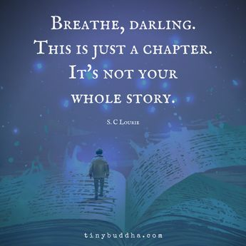 This Is Just a Chapter, Not Your Whole Story
